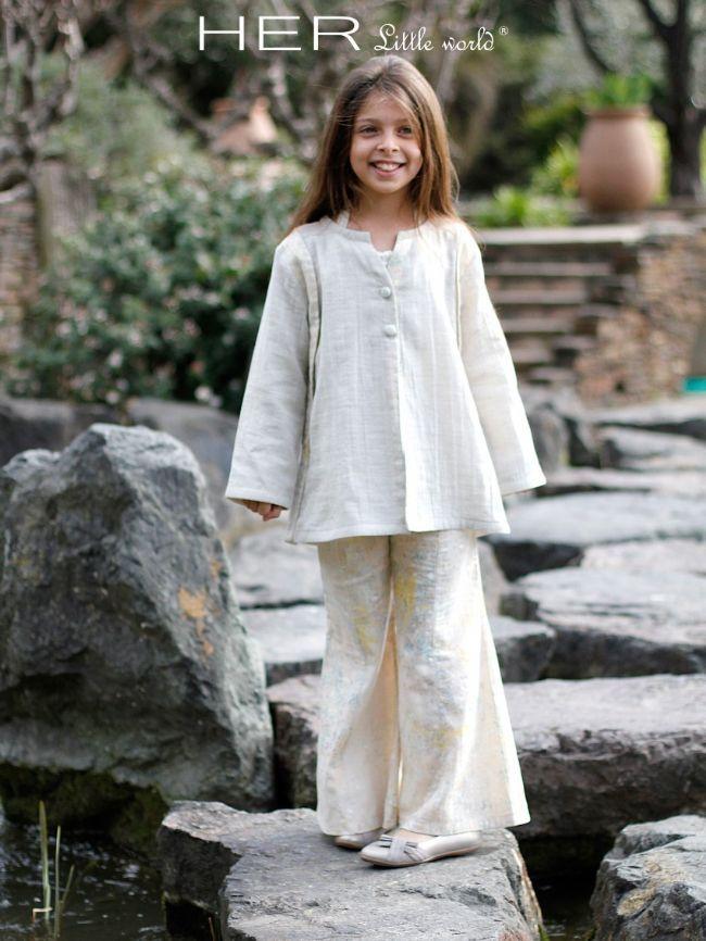 HER Little world, Patron de couture pour vêtement enfant, veste Frileuse