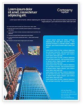 Building Company Flyer Template #02402   DTP ideas   Pinterest ...