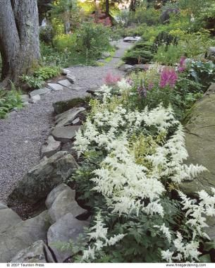 Photo of Natural Garden Paths Landscaping