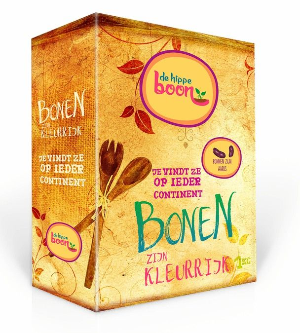 Design breakthrough packaging for beans - they are earthy as well as hip