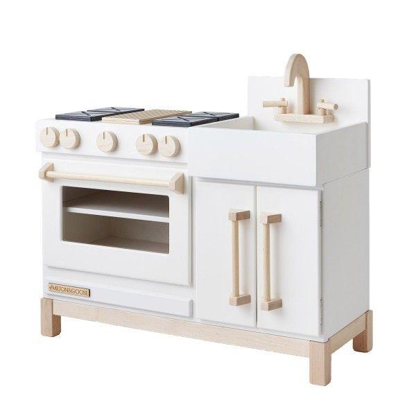 Best Milton Goose Essential Play Kitchen Grey Mini 400 x 300