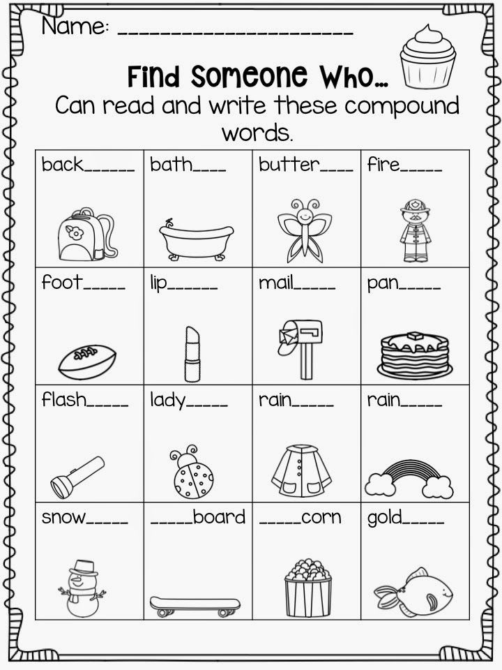 Teach Talk Inspire A Teaching Blog Compound Words Worksheets Compound Words Compound Words Activities