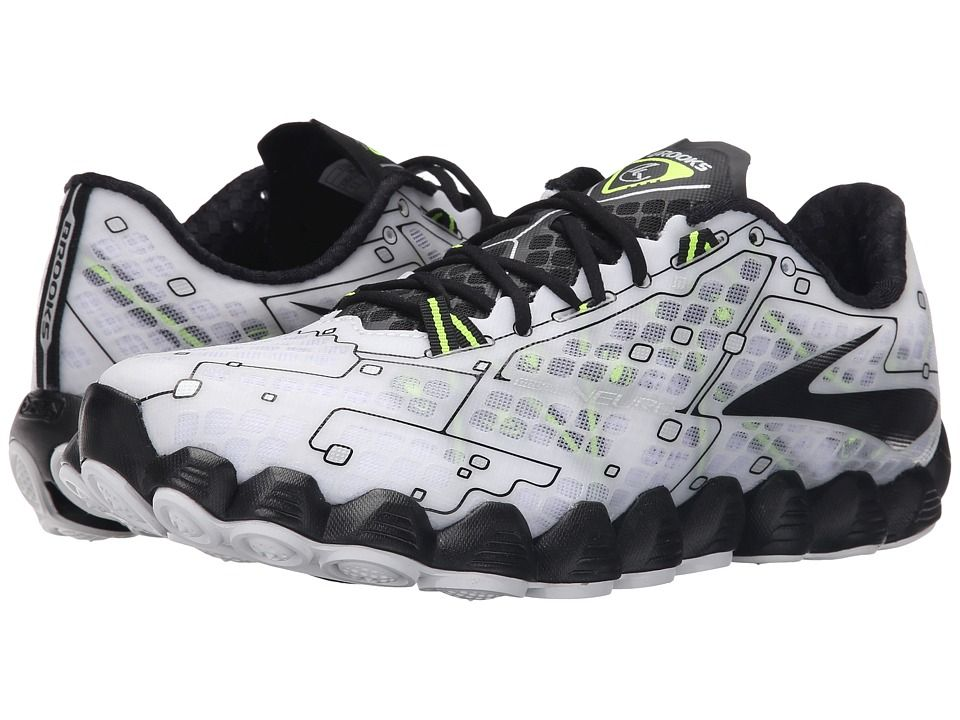 1f176166c2288 BROOKS BROOKS - NEURO (WHITE BLACK NIGHTLIFE) MEN S RUNNING SHOES.  brooks   shoes