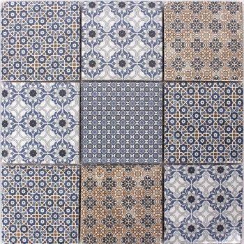 Hervorragend Keramik Mosaik Fliesen Zement Optik Classico