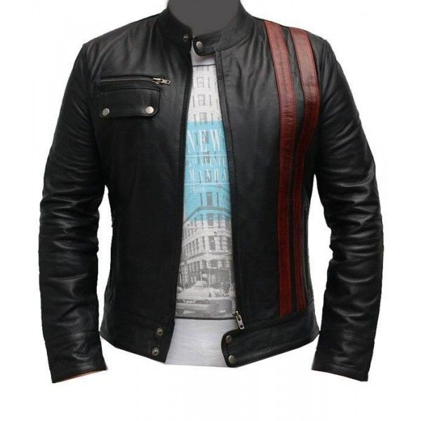 Men Black Leather Jacket Mens Biker Jacket Men Casual Leather Jackets Ropa The Ordinary