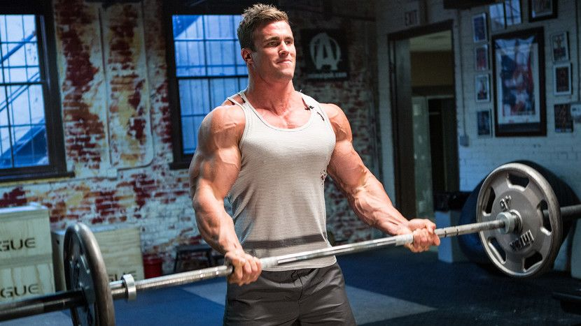 Reduce Your Carbon Footprint, take cold showers and get big biceps