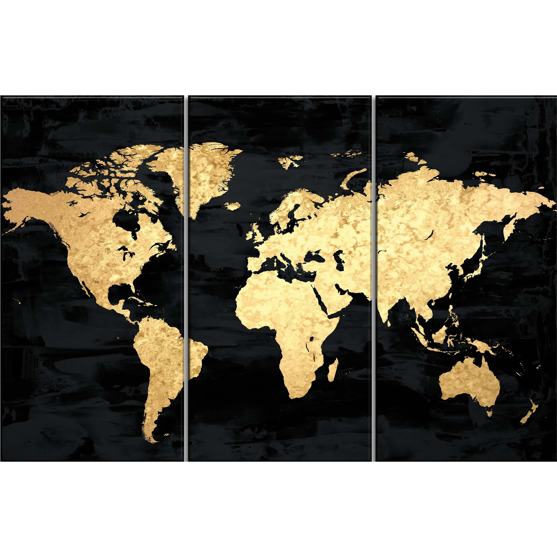 Kmart black gold map art 20 wall decorart and paint kmart black gold map art 20 gumiabroncs Choice Image