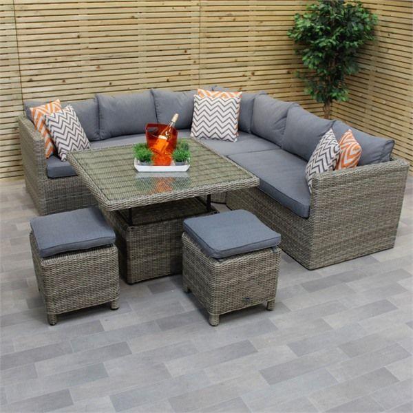 Rattan Corner Sofas Efistu Com In 2020 Rattan Corner Sofa Furniture Sofa Set Corner Sofa Set