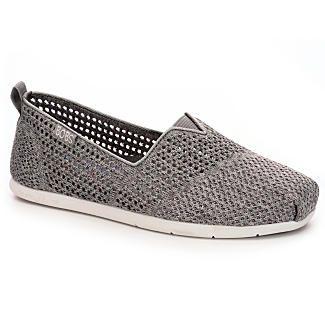 Skechers Bobs Plush Life Women's Slip-On (GREY)   Rack Room Shoes