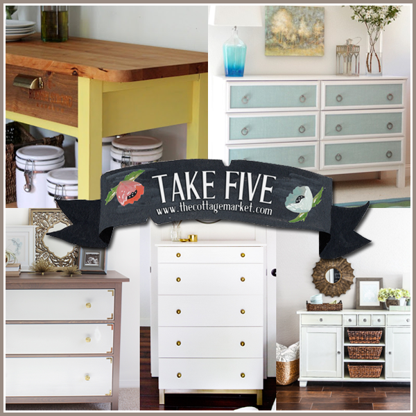 ikea furniture hacks. The Cottage Market: 5 Incredible Makeovers IKEA Hack Painted Furniture DIY\u0027s Ikea Hacks