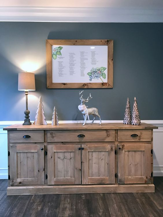 Ana white dining room buffet diy projects en casa en for Proposito del comedor buffet