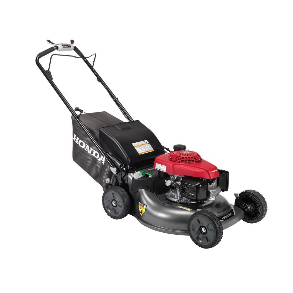 Honda 21 In 3 In 1 Variable Speed Gas Walk Behind Self Propelled Lawn Mower With Auto Choke Hrr216vka The Home Depot In 2021 Mowers For Sale Honda Self Propelled Mower