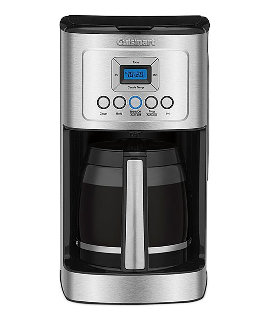 Black Perfectemp Programmable 14 Cup Coffeemaker With Images Cuisinart Coffee Maker Best Coffee Maker Coffee Maker