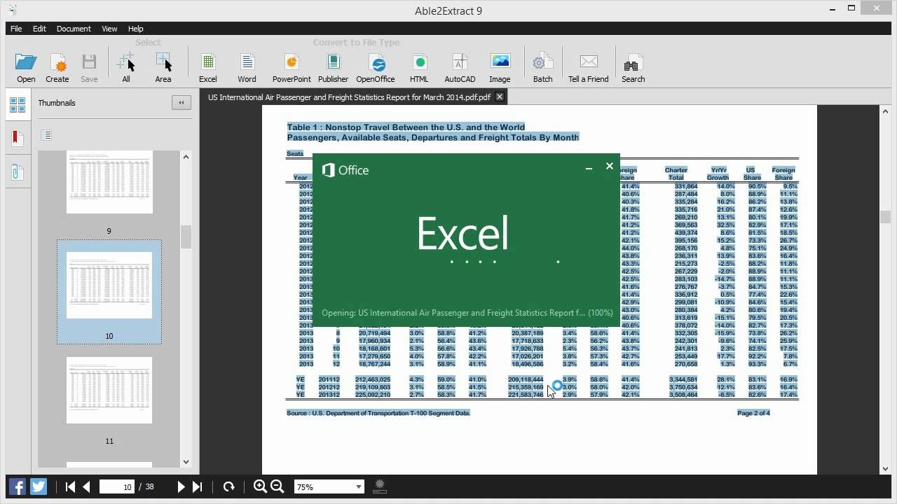 Introducing Able2Extract 9 PDF Converter, Creator and