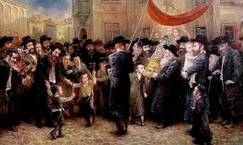 Coming Of The New Torah: Elena Flerova (1943, Russian)