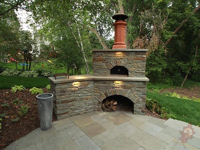 Beautiful Woodfire Pizza Oven Landscape   Google Search