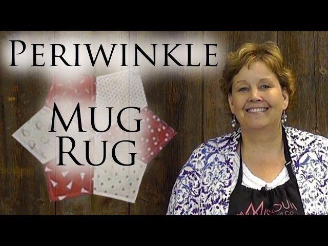 Periwinkle Mug Rug Always Great Always Free Quilting