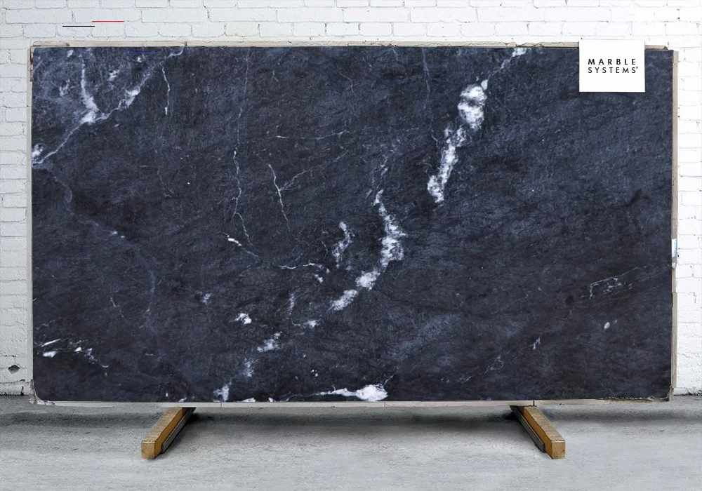 Sandy Blue Honed Polished Granite Slab Random 1 1 4 Granitetilecountertops Marblesystems Inc Is The Leader In Quality Sandy Blue Honed Polished Granite Sl In 2020