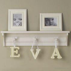 Nursery Wall Shelf Hooks And Hangers Google Search