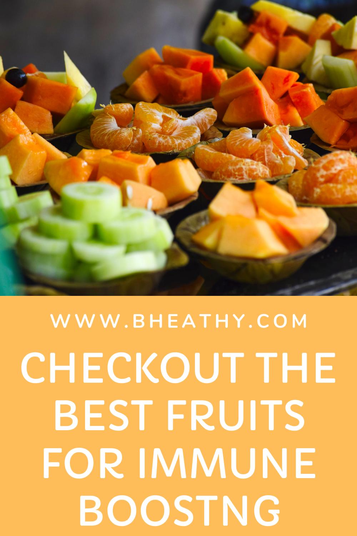 5 Fruits for immuneboosting. in 2020 Immune boosting