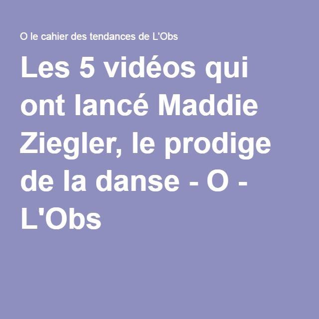 Les 5 vidéos qui ont lancé Maddie Ziegler, le prodige de la danse - O - L'Obs