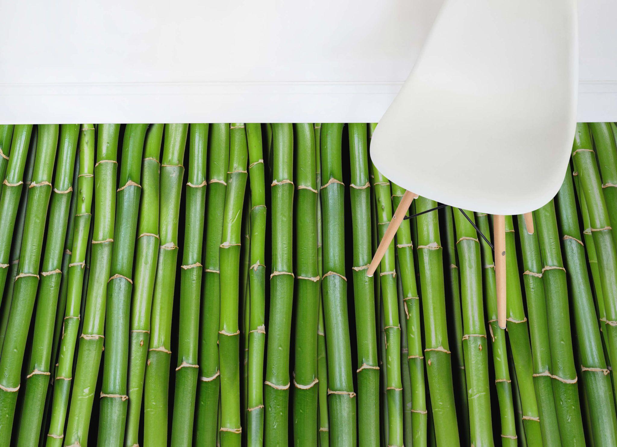 Bamboo Effect Vinyl Flooring