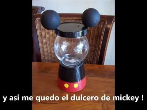 Mickey Mouse Candy Party Favors - YouTube