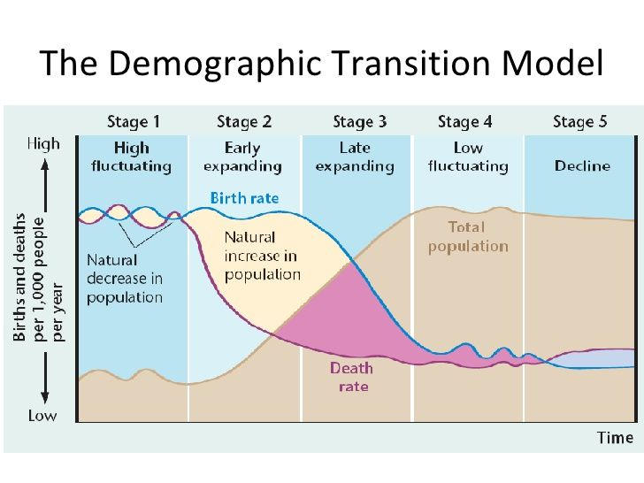 The Demographic Tranistion Model Demographic Transition Gcse Geography Model