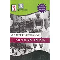 A Brief History Of Modern India 2018 2019 Session By Spectrum