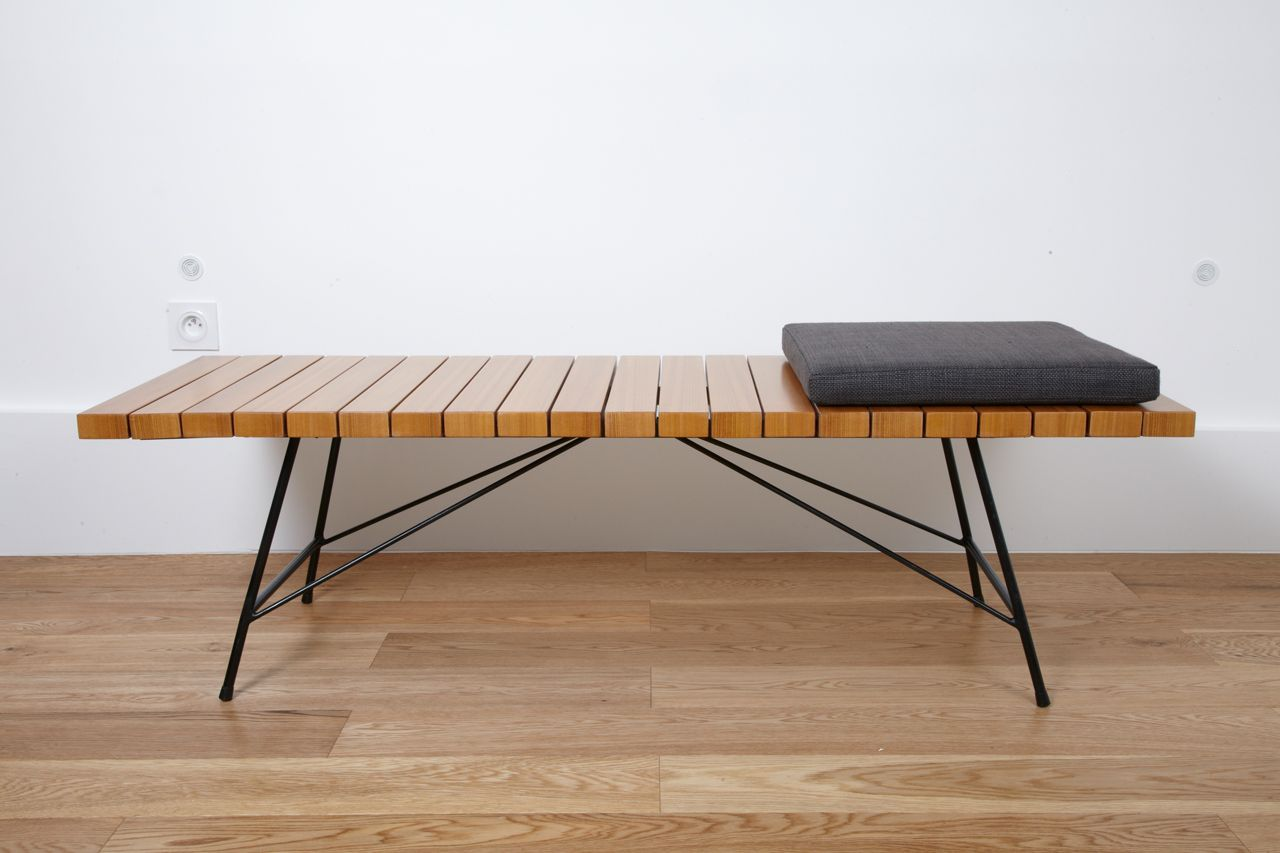 Bench Or Low Table 201 Alain Richard Meubles Tv Edition 1954 Image 4 Furniture Low Tables Vintage Table