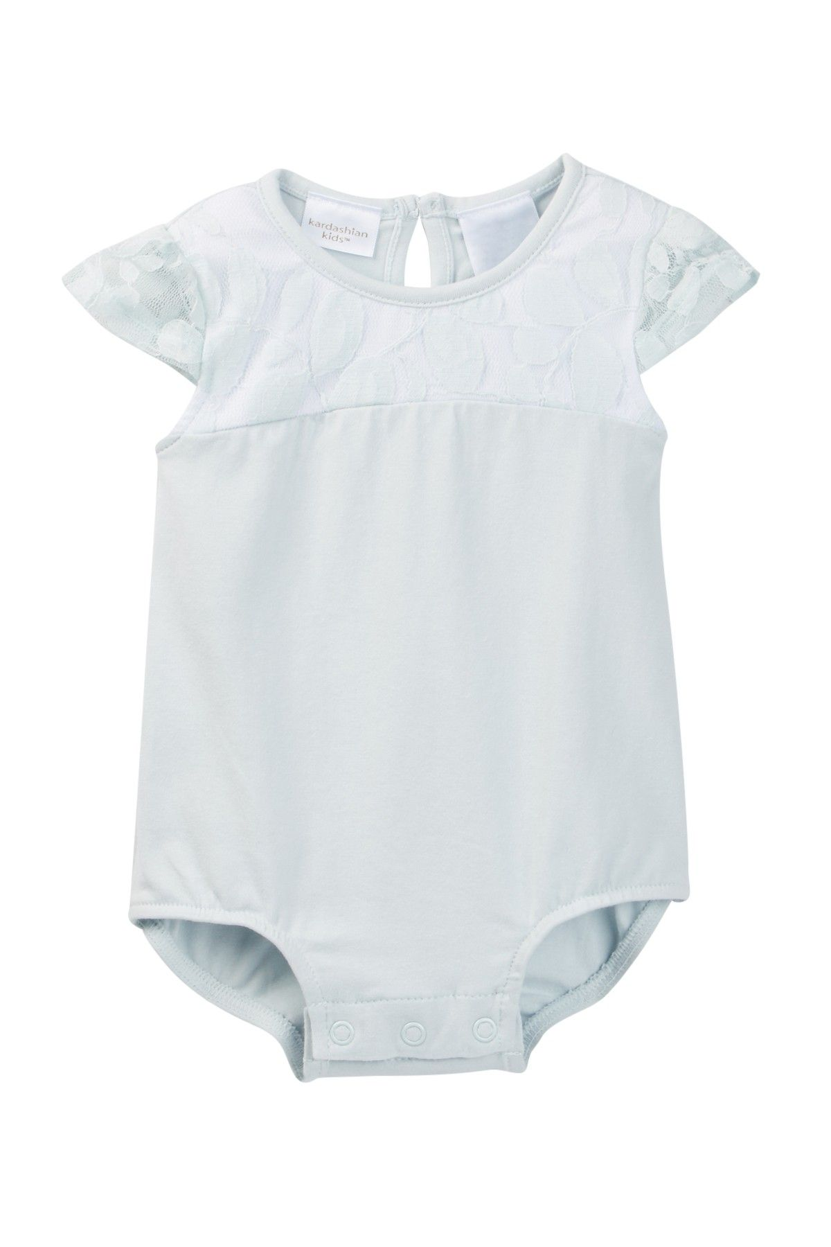 Kardashian Kids Lace Bodysuit Baby Girls 12 24M at Nordstrom