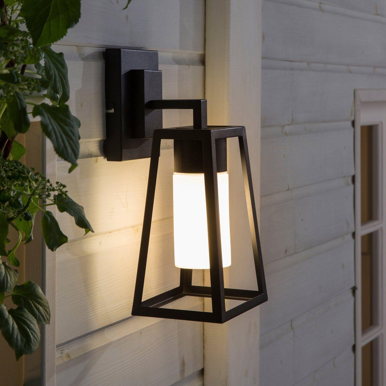 Applique Descendante Exterieur E27 Max 20w Noir Hudson Inspire Eclairage Exterieur Luminaire Exterieur Eclairage Exterieur Terrasse