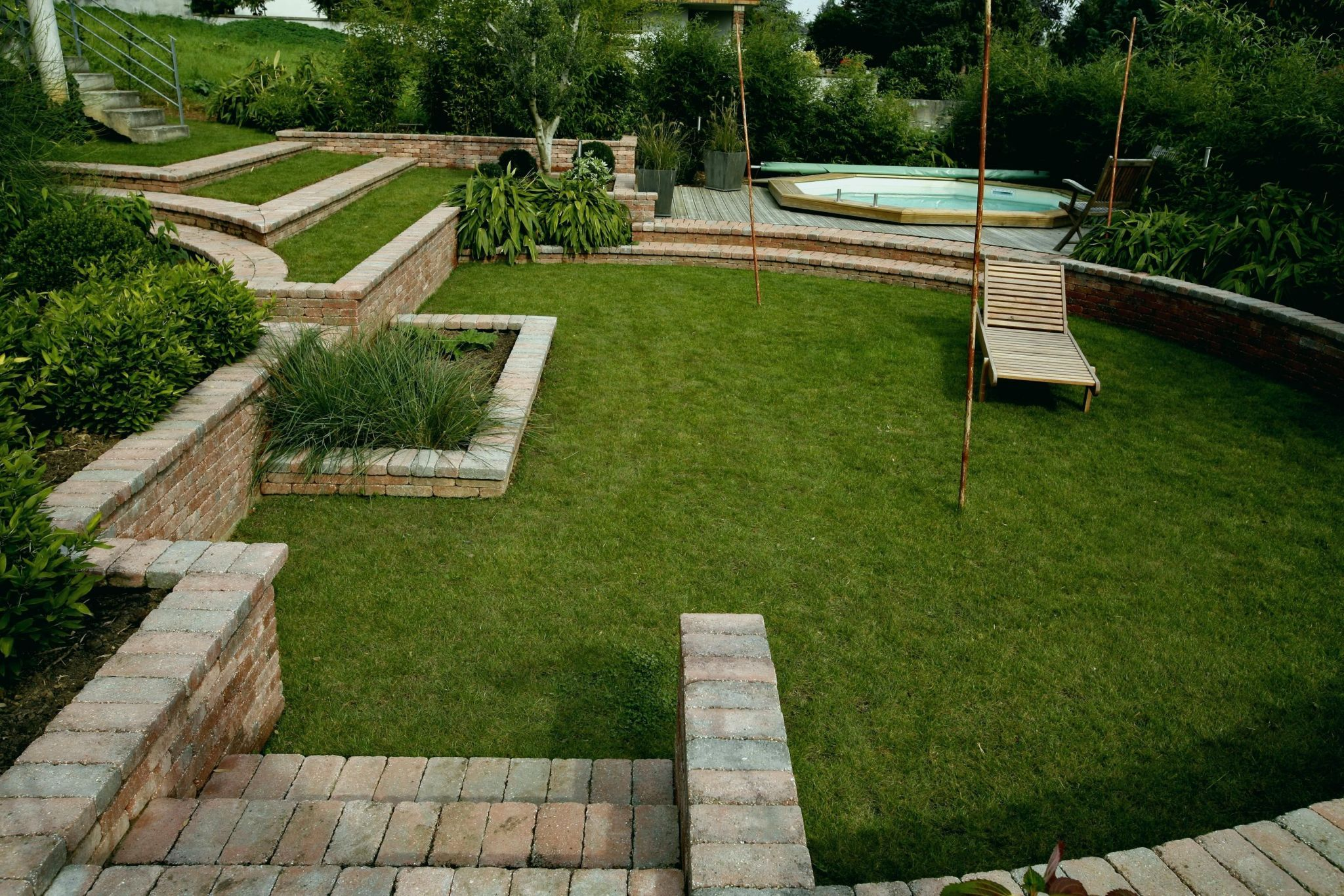 Amenager Son Jardin Amenagement Jardin Jardin En Pente Jardins