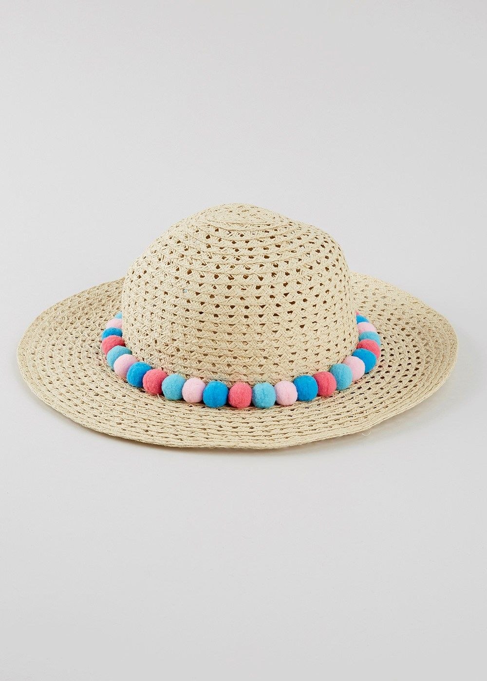 60ff89b0a Girls Wide Brim Straw Hat (3-13yrs) – Matalan | Spring/Summer 2017 ...