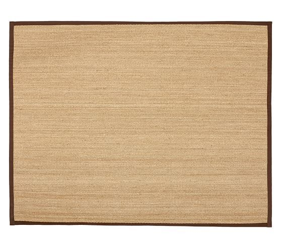 Fibreworks® Custom Color-Bound Seagrass Rug