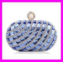 New style elegant women fashion crystal evening bag clutch bag HD1113