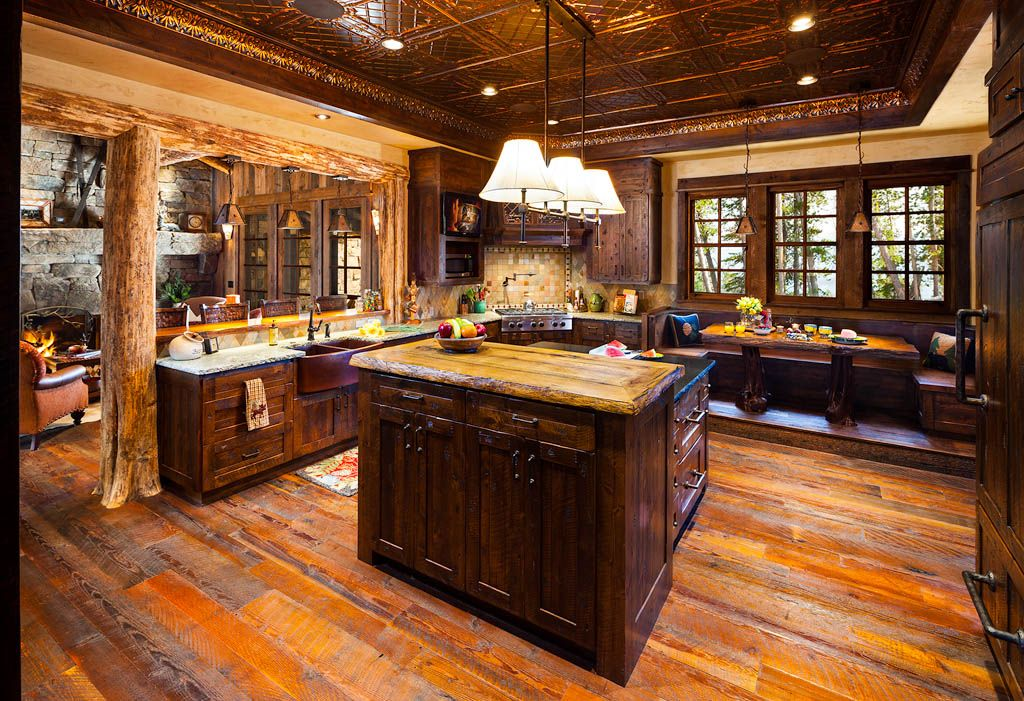 Best Log Home Kitchens Luxury Big Sky Log Cabins Published In 400 x 300