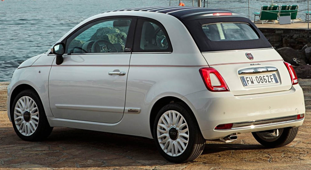 فيات 500 دولتشي فيتا النسخة الخاصة بالذكرى 62 على إطلاق سيارة فيات الشهيرة موقع ويلز Fiat 500 Fiat New Cars