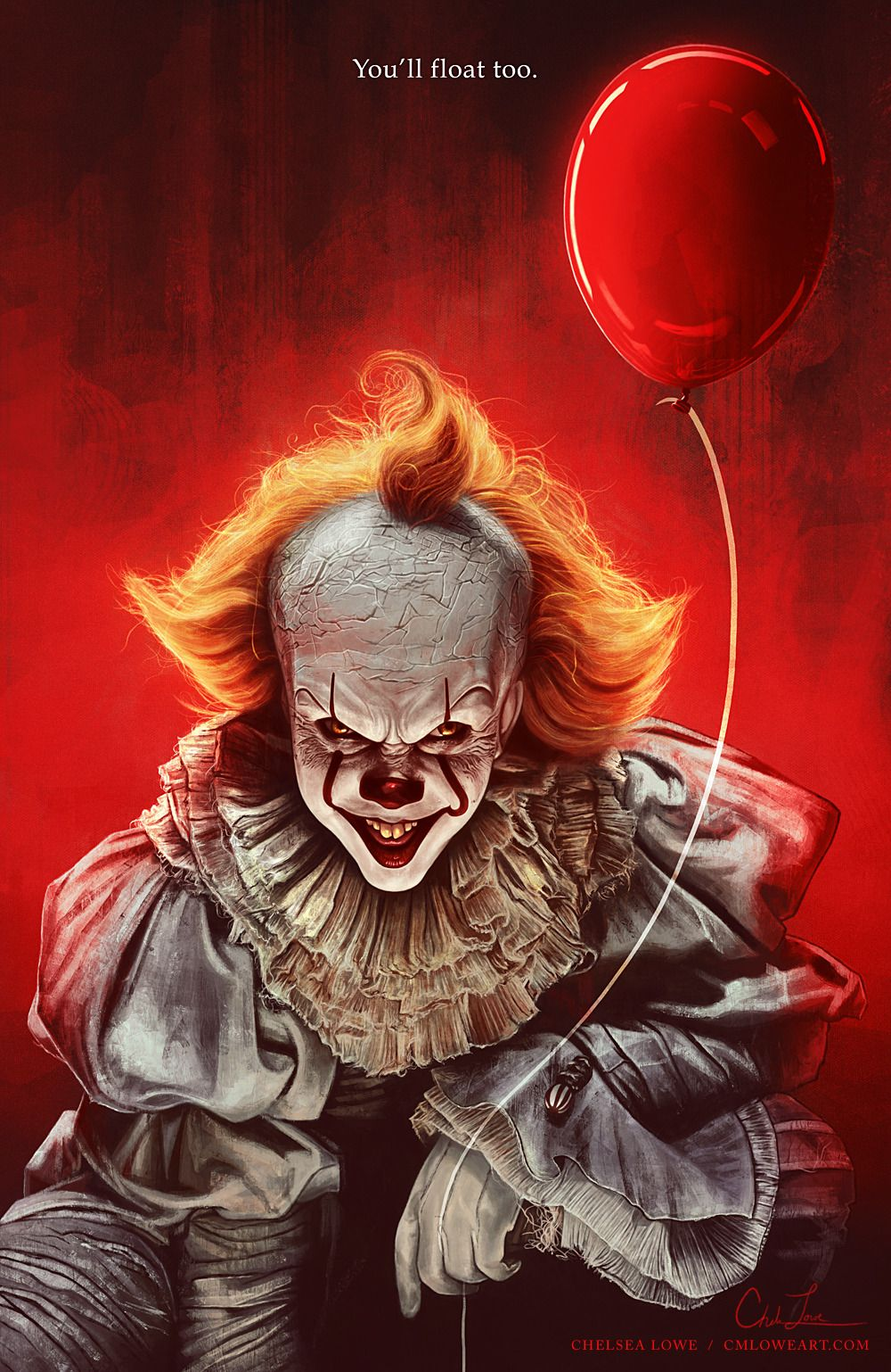 Cmloweart This Isn T Real Enough For You Billy I M Not Real Enough For You It Was Real Enough Clown Horror Pennywise The Dancing Clown Horror Movie Art