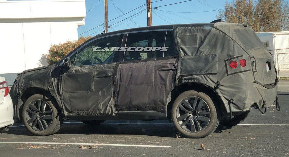 U Spy The 2019 Honda Pilot Facelift In California | Cars ...