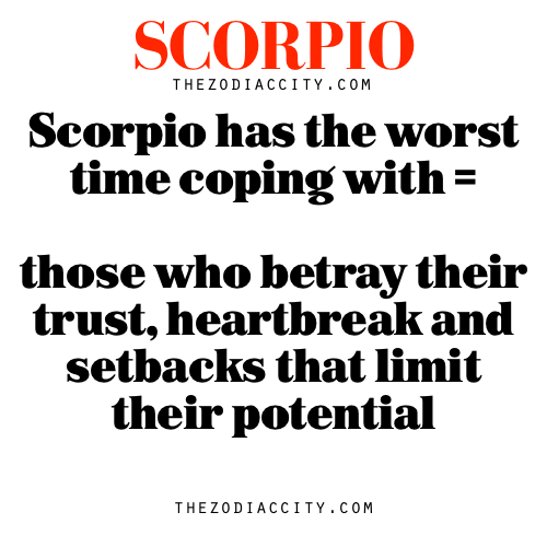 Why scorpios are the worst