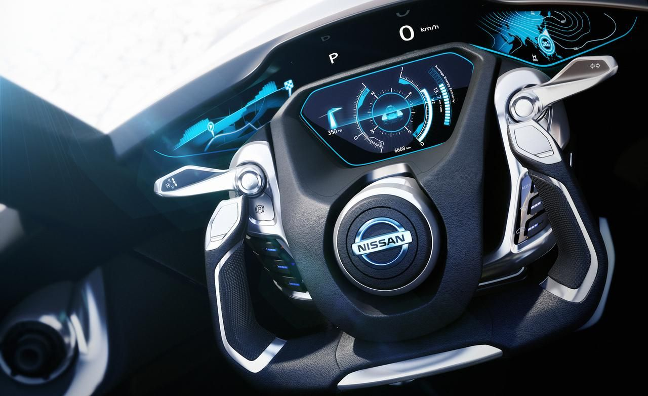Nissan Bladeglider Concept Interior Concept Cars Electric