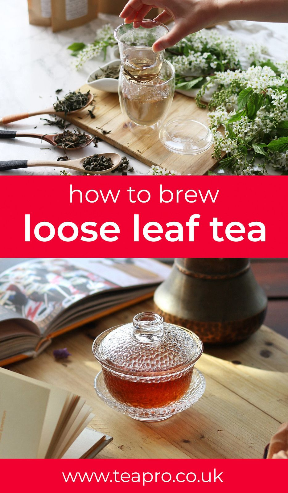 Photo of Loose Leaf Lovers: the complete tea brewing guide – Teapro