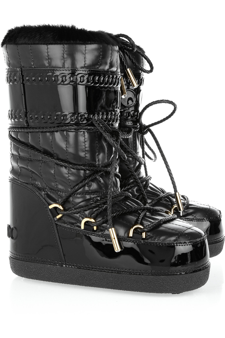 c335b1cbb76f Couture Snow Boots – Winter Luxe Look Designer Boots