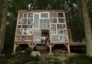Wauw, stel bouwt droomhuis voor minder dan 450 euro