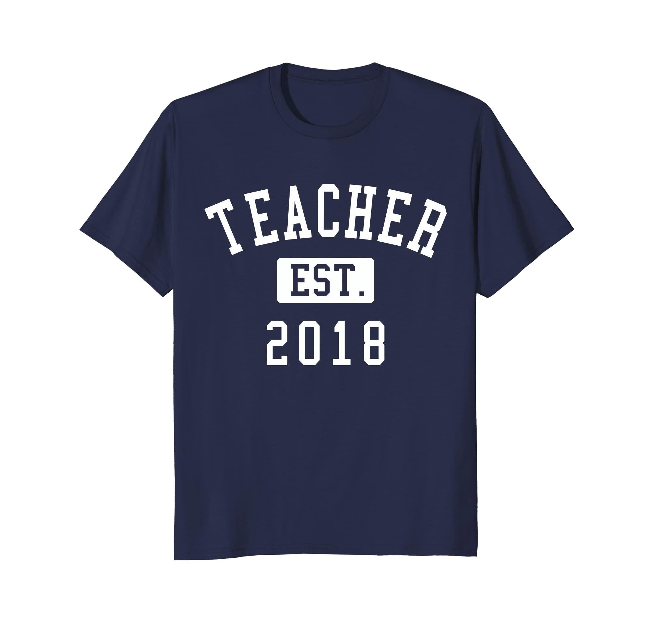 Teacher established 2018 Shirt - Gift for Teacher Graduation-Awarplus