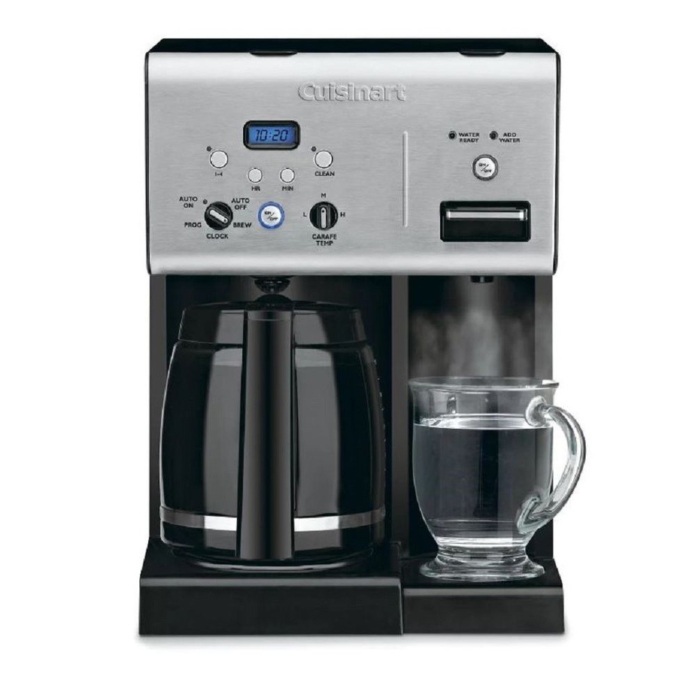 Coffee maker self cleaning 12 cup programmable hot water