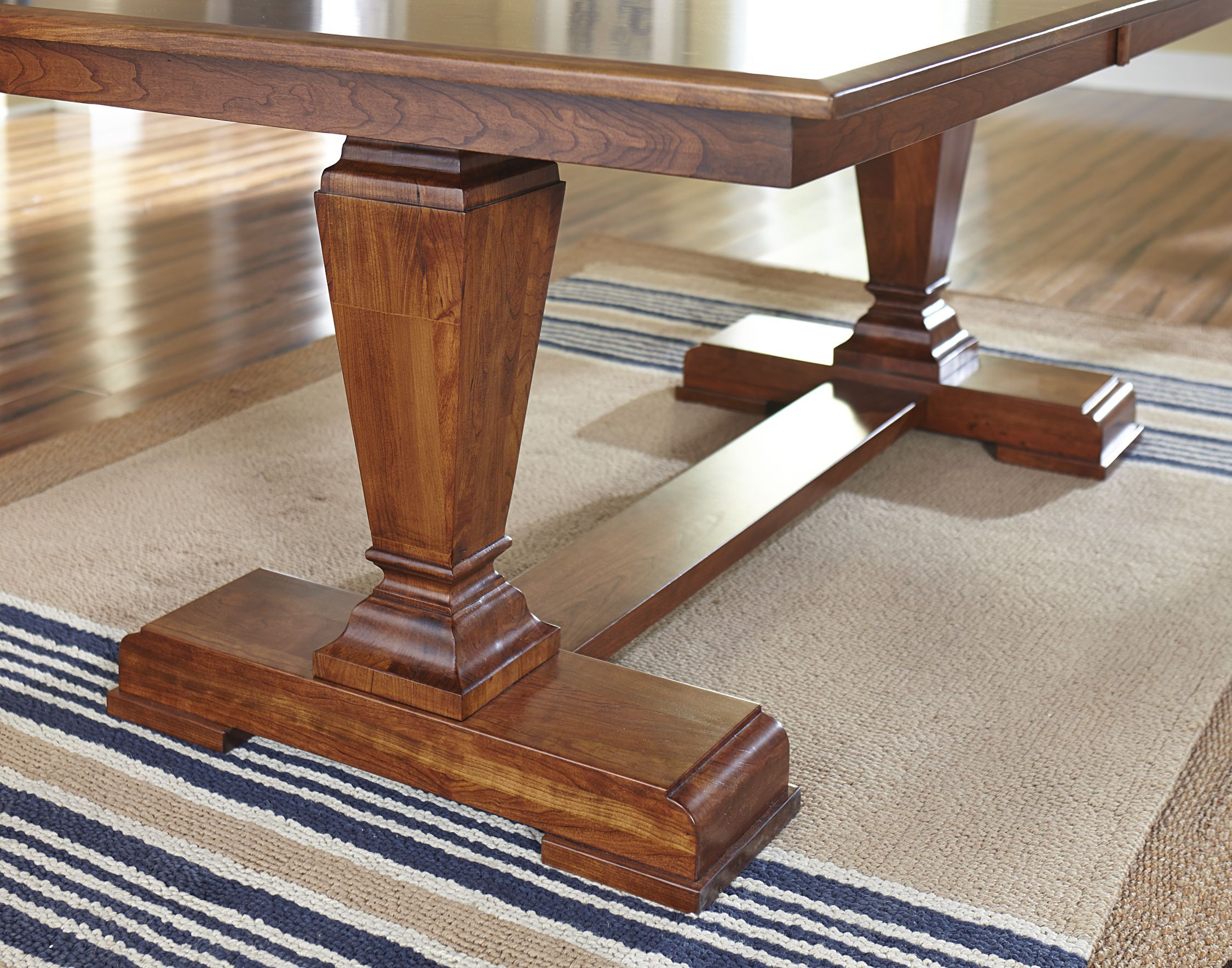 Fulton Trestle Table Base By The Country Woodshop. Built Custom By Amish  Craftsman. Available