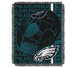 NFL Woven Jacquard Throw Double Play 46X60