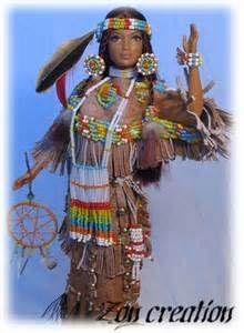 Native American Indian Barbie Dolls #indianbeddoll